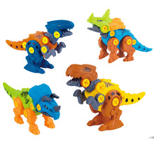 Screw-Nut-Combination Disassembly-Assembly Assembling-Dinosaur-Model Educational-Toy