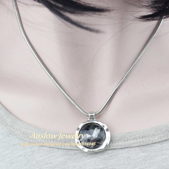 Anslow New Personalized Creative Custom Jewelry Short Necklace Pendant Love Friends Gift 1