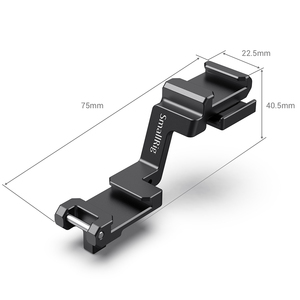 Image 4 - SmallRig A7 III Camera Shoe Mount Cold Shoe Extension Plate for Sony A7III A7R III for LED Mic DIY Options 2662