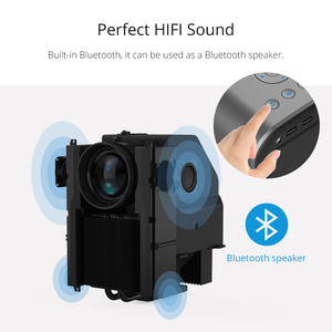 Image 3 - TouYinger T7 T7K T7W HD домашний светодиодный проектор Bluetooth, 1280x720 Поддержка Full HD видео LED USB проектор для кино, 4000 люмен Android опционально