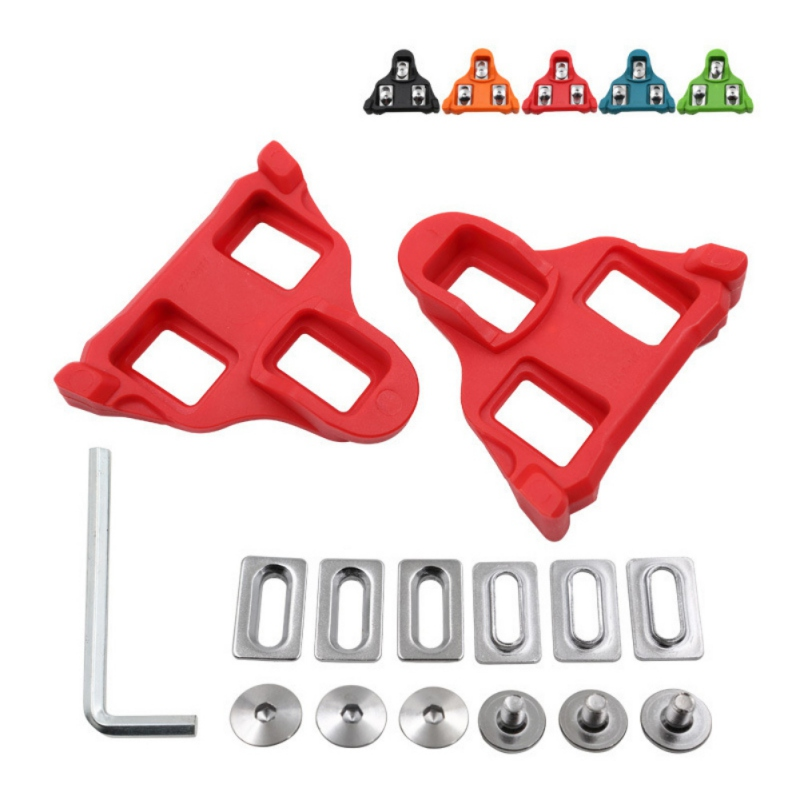 Bike Bicycle Cycling Self-locking Compatible Pedal Cleat Set for Shimano MTB SPD