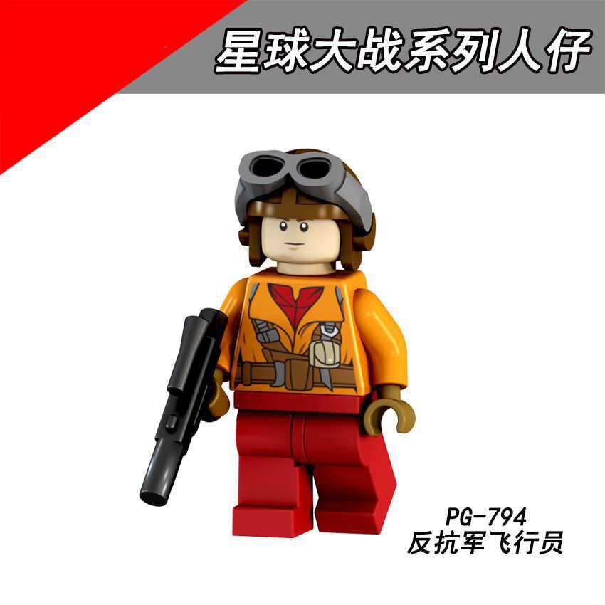 PG8115 compatível com Le ir Snowtrooper Guerra Estrela Figura de Ação Pouco piloto do Mestre Yoda Luke blocos Puzzle brinquedo presente das Crianças