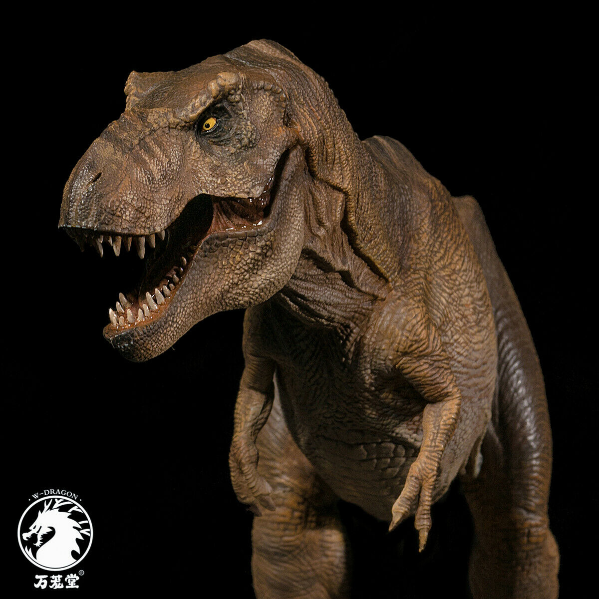 IN STOCK!!W-Dragon 1:35 Scale Rexy Statue Female Tyrannosaurus Rex Jurassic Dinosaur T-Rex Collector Dino Adults Toy Gift
