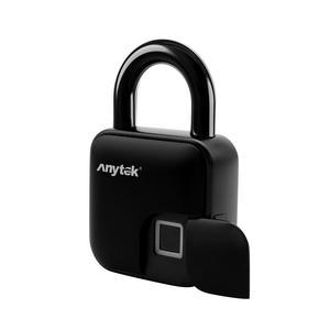 Image 5 - USB עמיד למים נגד גניבת טביעות אצבע מזהה חכם Keyless מנעול בית מזוודות מקרה תיק מנעול סופר ארוך המתנה אלקטרוני מנעול