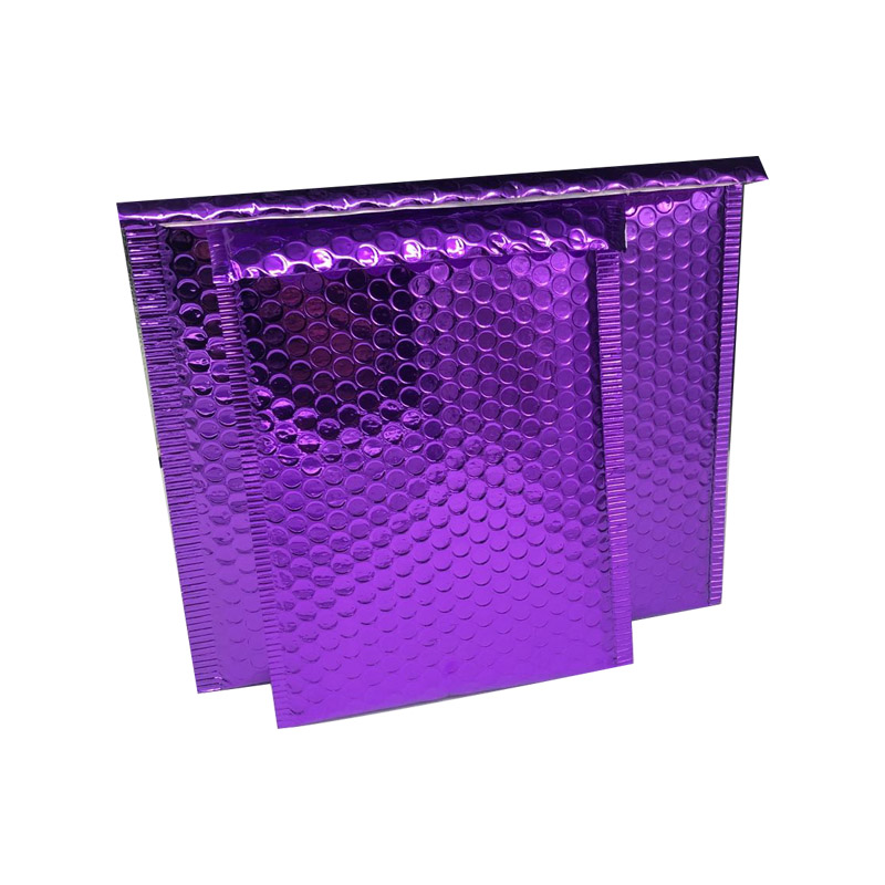10pcs Purple Mailers Mailing Envelope Bags Waterproof Courier Bags Bubble Mailers Padded Bubble Envelopes Bag