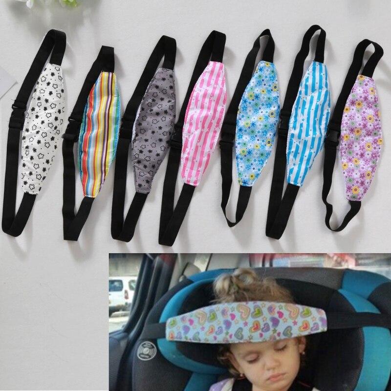 Kids Head Support Holder Sleeping Belt Stroller Car Seat Sleep Nap Holder Belt P31B