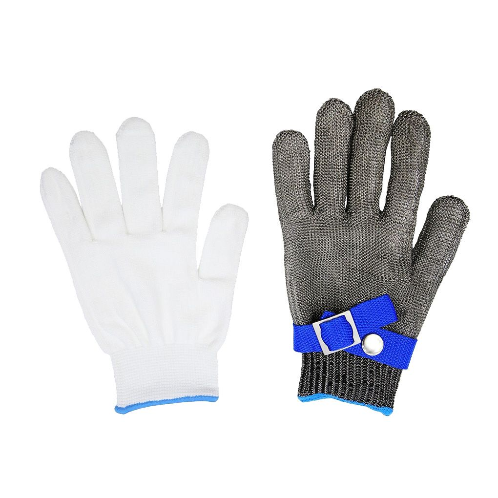 New Anti-cut Gloves Safety Cut Proof Stab Resistant Stainless Steel Wire Metal Mesh Butcher Cut-Resistant Gloves