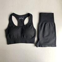 0309Black Bra Shorts