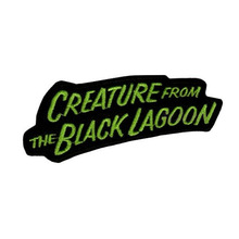 Creature from the Black Lagoon Logo Embroidered Patch Universal Monsters Horror