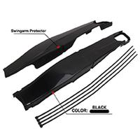 Motocross Rear Flat Fork Protection Plastic Swing Arm Protector for KTM XCW 125 500EXC/EXC F Off road Motorcycle Accessories