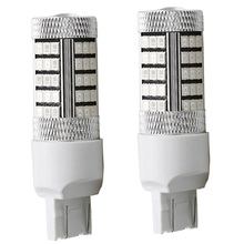 1156 BA15S 1157 BAW15S BAY15D 66 SMD 2835 LED White Red 12V Car P21W PY21W PR21W Brake Turn Tail Lights Signal Lamp