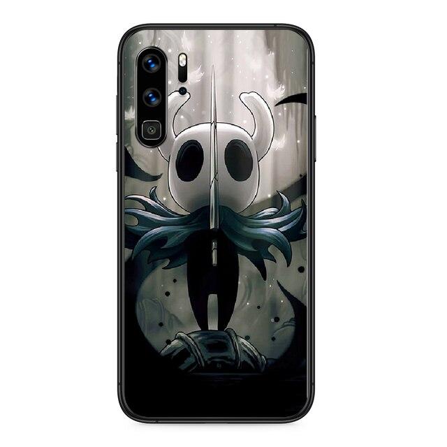 Полый чехол для телефона Huawei P 9 Smart 10 20 30 40 8 Lite Mini Z 2019 Pro black hoesjes, Роскошный чехол, мягкий чехол для мобильного телефона