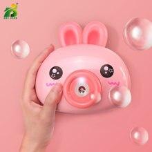 Детская Милая машина для мыльных пузырей в виде лягушки детская