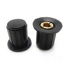 5 pçs/lote WXD3-13 WXD3-13-2W preto botão cap botão é adequado para a alta qualidade virar especial potenciômetro knob KYP16-16-4