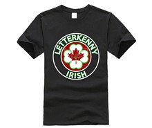 brand men shirt Letterkenny Irish Hockey shirt(China)