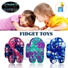 Antistress Push Bubble Fidget Toys Stress and Anxiety Relief Squishy Squeeze Sensory Toy Pop Poppers Poppit Popet Popping Game