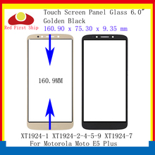 10Pcs/lot Touch Screen For Motorola Moto E5 Plus XT1924 Panel Front Outer LCD Glass Lens XT1924-1 XT1924-2-4-5-9 XT1924-7