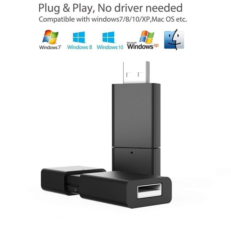 Usb Bluetooth 4.2 Audio Transmitter 3.5Mm Aux Wireless Adapter For Tv Pc Home Stereo Rca To Bluetooth Headphones Or Speaker
