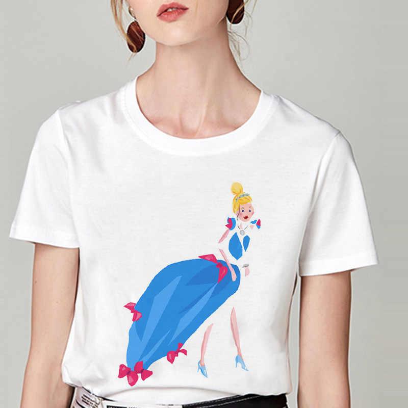 レディーストップスやブラウスファッション女性 2019 夏のパロディーおかしいミニマリストカジュアル漫画のプリントルースシフォンブラウスストリート