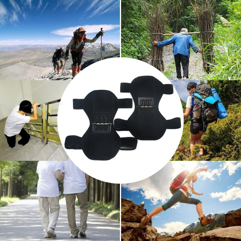 1 Pair Support Guard Squat Patella Booster Outdoor Training Mountaineering Pad Non Slip Protector Knee Brace Climbing 2019