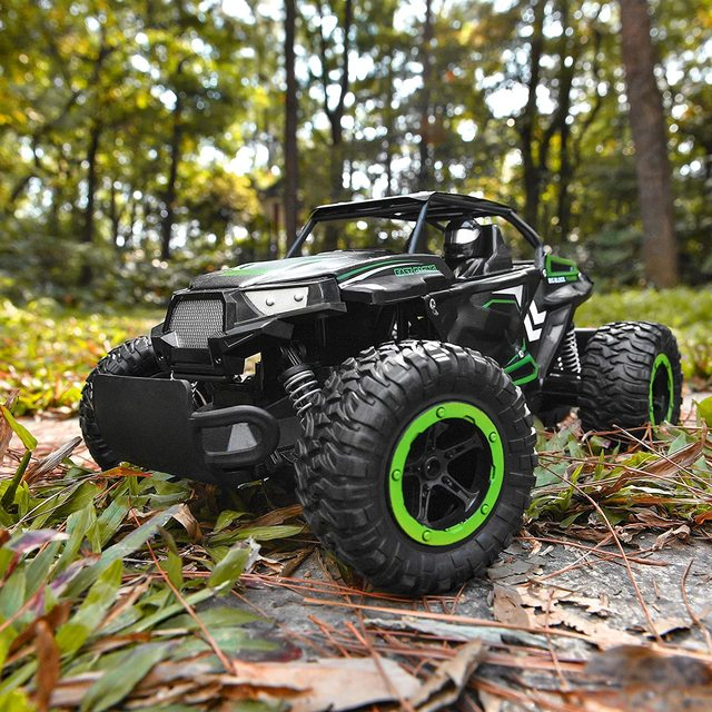 1:14 35Km/h RC Car Metal Alloy Body Crawlers Remote Control Off-Road Truck Cars Electric Vehicle For Kids Adults RC Car 4WD Toys 2