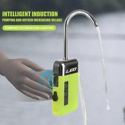 LEO USB Перезаряжаемые на открытом воздухе Рыбалка оксигенации воздушный насос интеллигентая (ый) Сенсор гидроокислительняа установка для на...