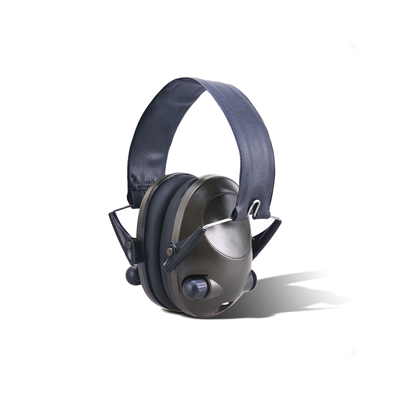 Tactical Headphone Protective Soft Suitable Foldable Noise Reduction Headphone Portable Durable Anti-Noise Shooting Headphone