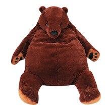 Hugging Pillow Plush-Toys Animal-Cushion Stuffed Teddy Bear 100cm Dark-Brown Soft Children