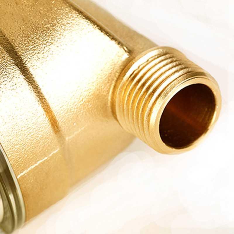 ホット販売 4 分割口水フィルターフロント清浄機銅リードプレフィルター逆洗削除錆汚染物質土砂パイプ