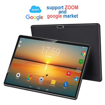 Ready stock Tablet Pc 10.1 inch Android 8.0 Tablets Octa Core Google Play 4G LTE Phone Call GPS WiFi Tempered Glass support ZOOM 2020 new original 10 1 inch 4gb 64gb octa core tablet pc android 9 0 google play 4g lte phone call wifi bluetooth gps tablets