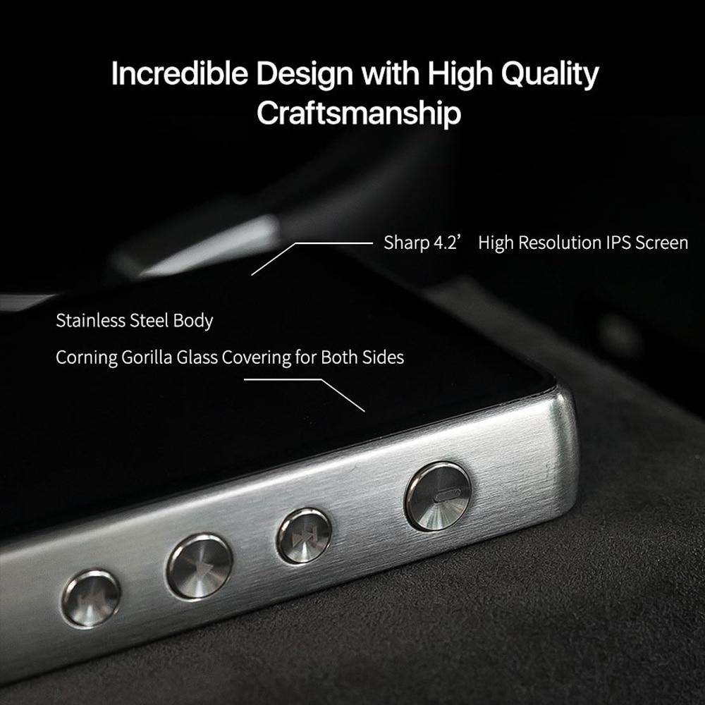 MP3-плееры HiBy R6Pro (алюминиевый сплав)без потерь музыкальный плеер цифровой аудио Привет-Fi Bluetooth музыка Ультра HD