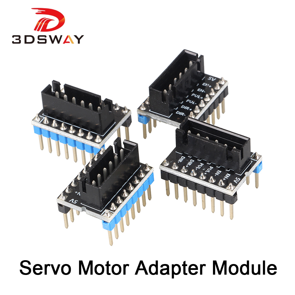 3DSWAY 3D Printer Part 4pcs lot External High Power Switching Module for Microstep Driver Lerdge 3D Printer Board Adapter Module