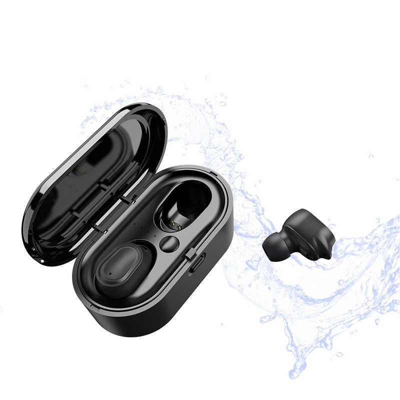 Air 2 Tws Bluetooth Earphones Mini Wireless Earbuds Cordless Headset Sport Handsfree Earphone With Charging Box For Xiaomi Phone Bluetooth Earphones Headphones Aliexpress