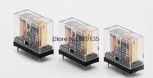 10 個オムロン G2R 1 DC12V/24 v 基板実装 5Pin spdt パワーリレー 10A/250VAC