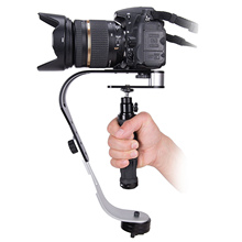 SUNNYLIFE Universal Handheld Video Camera Stabilizer Steady Mobile Phone Mount Holder for GoPro Cannon DSLR Camera DV Accessory