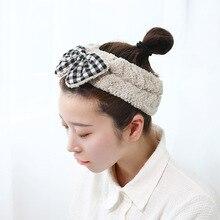 Японская Корейская Милая повязка для волос для мытья лица милая мягкая маска для удаления волос лента для волос Красивая резинка для волос из флиса