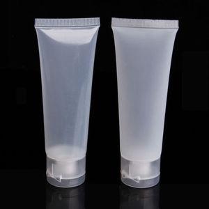 Image 4 - Tube cosmétique vide de voyage, à presser, pour nettoyage du visage, bouteille de crème pour les mains, Pot de Gel, 20/30/100 ml, 50/100 pièces