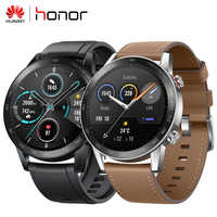 "Huawei Honor Magic 2 Magic2 Smart watch 1.39"" AMOLED Always-on Display 5ATM 14days Battery Life Blood oxygen GPS Glonass"