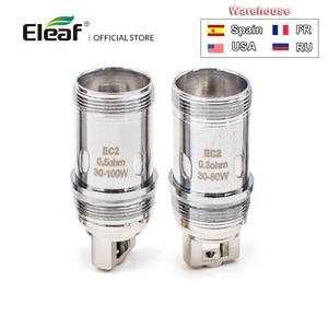 Image 5 - 5/10PCS המקורי Eleaf EC ראש EC M/EC S/EC2/ECL סליל עבור אני פשוט 2/אני פשוט S/מלו 3 סליל iJust2 EC ראש אלקטרוני סיגריה