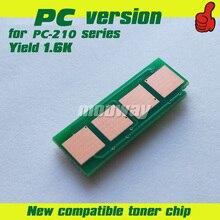 1,6 K обломок тонера для Pantum P2207 P2500W P2505 P2200 M6600NW M6607NW PC-210 PC-211EV PC-211 PC-210RB микросхема картриджа с тонером