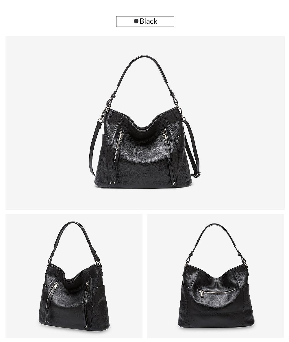 bolsa de couro genuíno para as mulheres