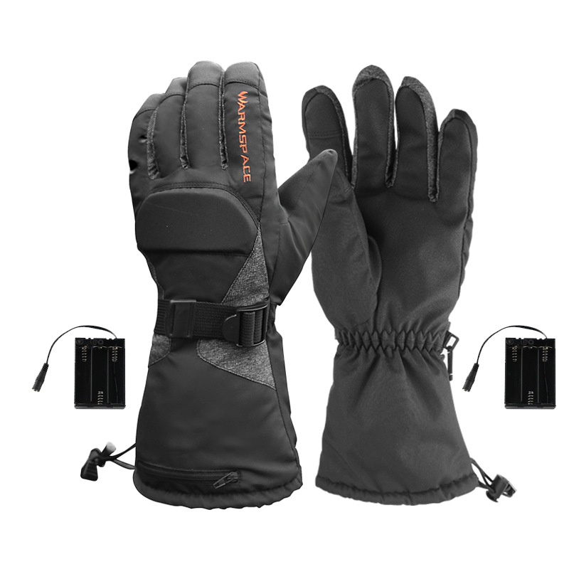Upgraded Heated Gloves For Men Women Electric Ski Motorcycle Snow Mitten Glove Arthritis