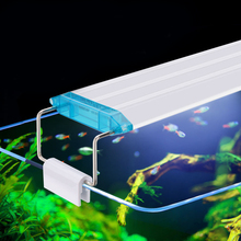 Super Bright Aquarium Lighting Fish Tank Plant Grow Lighting Aquarium Led Lighting 21-70CM Extensible Clip on Lamp For Fish Tank цены онлайн