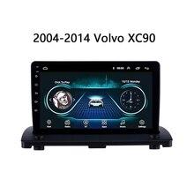 """Автомобильная магнитола для Volvo XC90 мультимедийная система 2004 2005 2006 2007- gps навигация головное устройство Android 8,1 """" USB зеркальная связь 2.5D"""