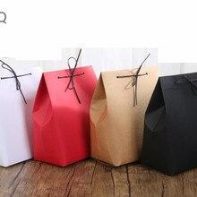 10 шт крафт-бумажный мешок нижнее белье упаковка мешок большой бутик/подарок Подарочная коробка для рождественской вечеринки коробка 18x11,5x24,5 см
