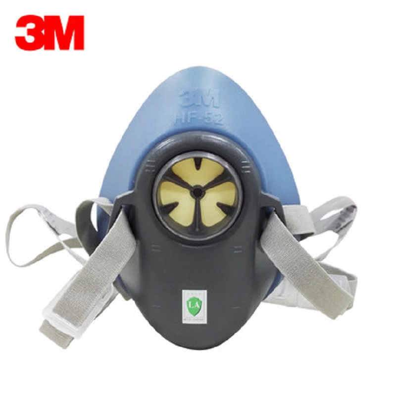 Image 3 - 3M HF 52 Gas Mask Respirator Painting Pesticide Refine New Upgraded Version 3200 Chemical Carbon Filters Safety Decoration MaskChemical Respirators   -