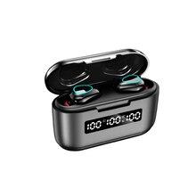 G40 tws bluetooth v5.1 fones de ouvido mini sem fio fones de toque 9d esportes estéreo de alta fidelidade duplo microfone fone de ouvido baixo 3500mah caixa de carregamento