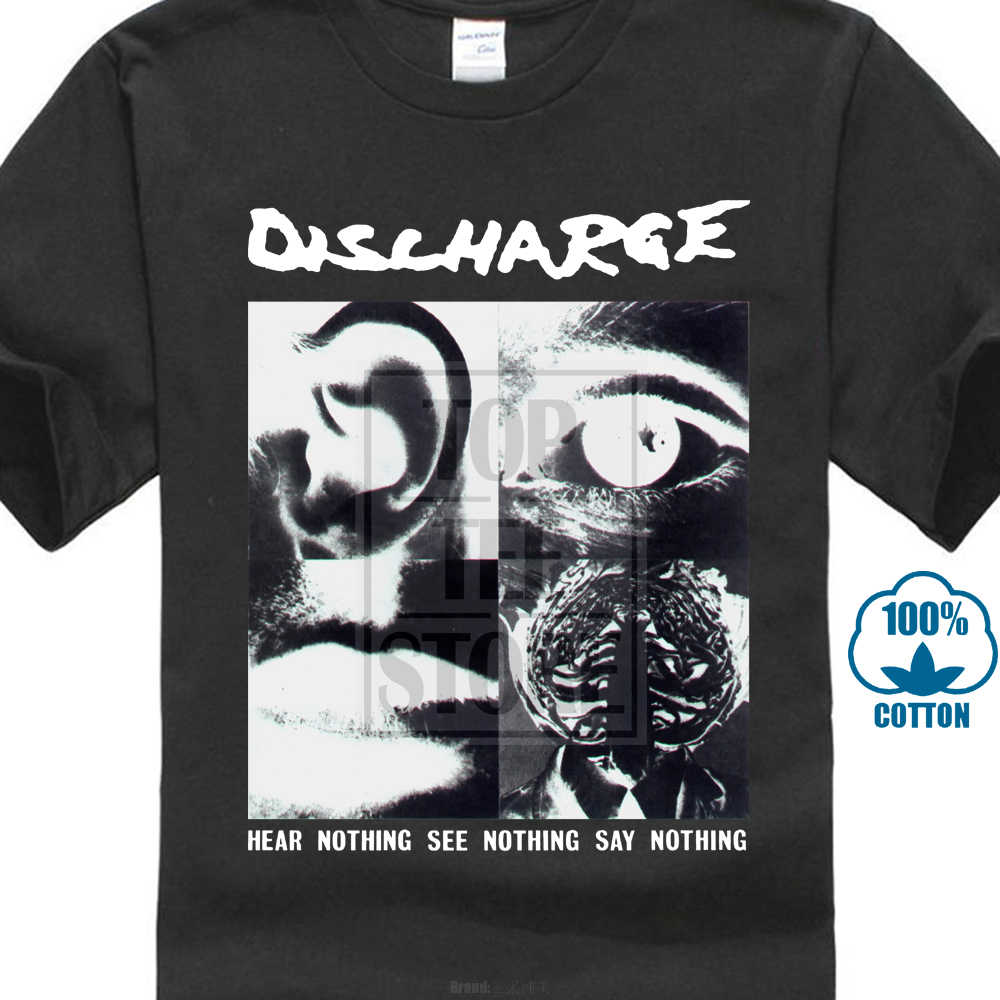 Décharge ne rien entendre t-shirt S M L Xl 2Xl flambant neuf officiel t-shirt 018228