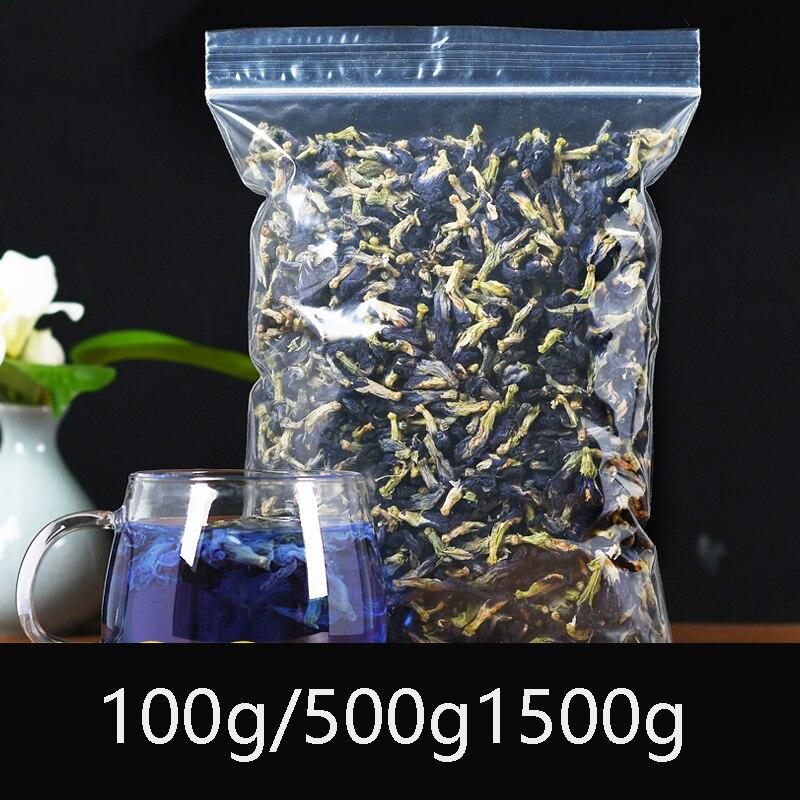 Высокое качество сушеные цветы синяя бабочка горох чай детоксикации и уменьшения отеков способствует пищеварению против спирта красота зд...