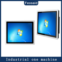Feosaid 12.1 inch Embedded industrial capacitive touch computer Metal shell Ordering machine 4G RAM  core i5, Smart computer